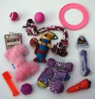 BARGAIN SMALL DOG TOY SET IDEAL FOR YOUR PUG PUPPY CHIHUAHUA DAXIE & TOY DOGS